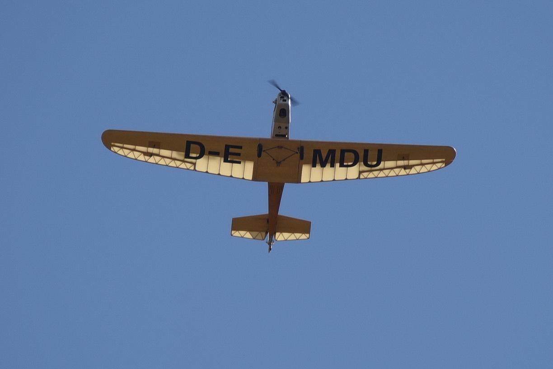 Erstflug Klemm 25